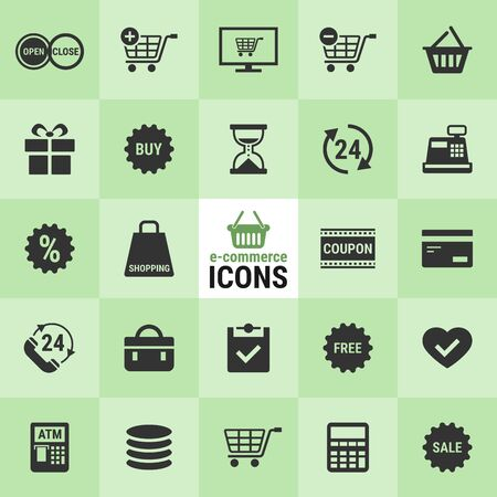 Excellent e-commerce icons for designers in the design of all kinds of works. Beautiful and modern icon which can be used in many purposes. vector.  イラスト・ベクター素材