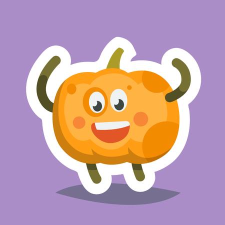 passion  ecology: Emoticon Icon Happy Pumpkin