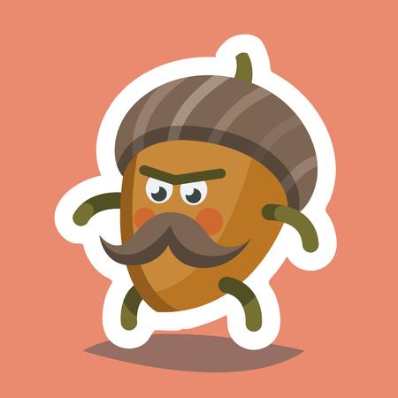 Emoticon Icon Cheeky Nut