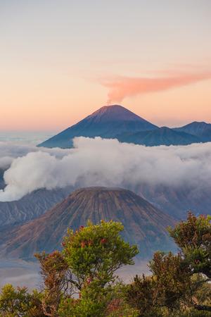 Mount Bromo volcano,  Surabuya, Indonesia