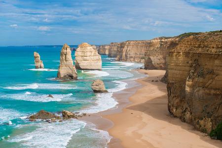 public celebratory event: the Twelve Apostles, Victoria, Australia