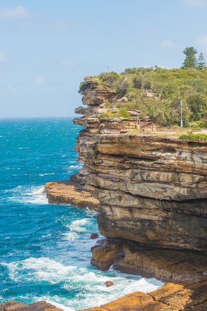 The Gap on a sunny day in Watsons Bay Sydney Banque d'images