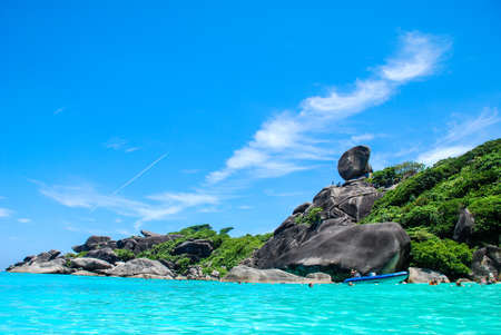 The Landmark of Similan Island, Phang Nga, Thailand photo