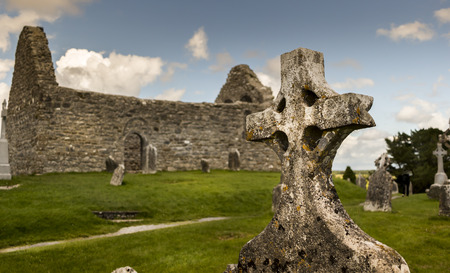 Celtic cemetery in Norther Ireland