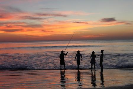 Sonnenuntergang Standard-Bild - 11417608