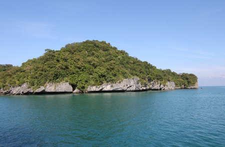 uninhabited: uninhabited island, a national marine park, Koh Samui, Thailand, Southeast Asia
