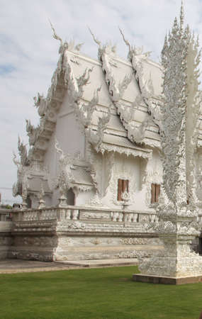 example: White House Thai prime example of original architecture Stock Photo