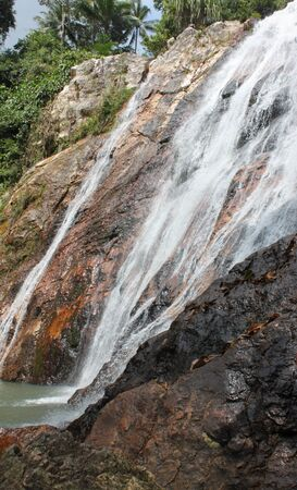 Waterfalls on Koh Samui, Thailand, Southeast Asia Stock Photo