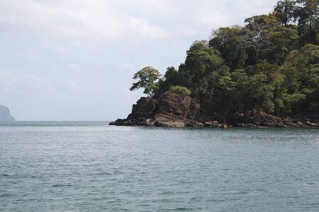 uninhabited: uninhabited island, a national marine park, archipelago of Koh  Ngai, Thailand, Southeast Asia Stock Photo