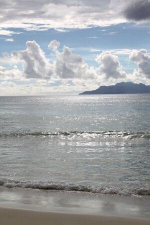 Seychelles paysage tropical, l'Océan Indien, de l'Equateur