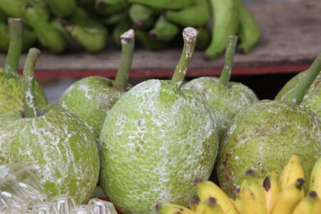 endemic tropical fruit, the Seychelles, the equator Stock Photo