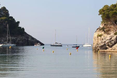 menorca: landscape on the island of Menorca