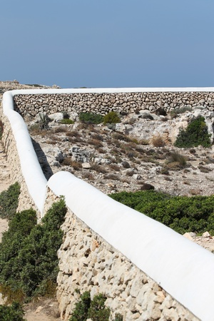 menorca: landscape on the island of  Menorca, Spain