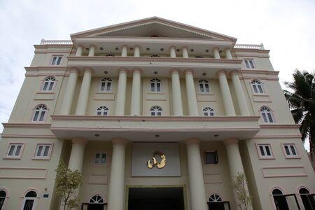 ne: Hotel Exterior, Mui Ne, Vietnam, Southeast Asia