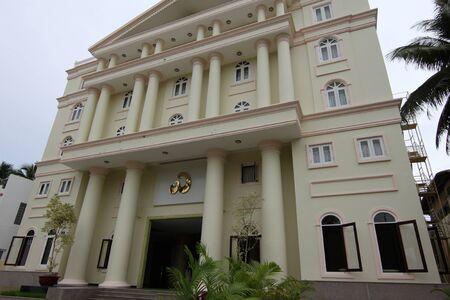 southeast asia: Hotel Exterior, Mui Ne, Vietnam, Southeast Asia