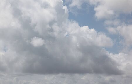 ordinary: ordinary clouds in the sky, Southeast Asia Stock Photo