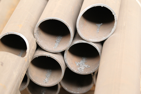 building structures: Metal profiles pipe foundation for building structures, steel