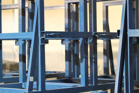 further: various elements of steel structures for further assembly