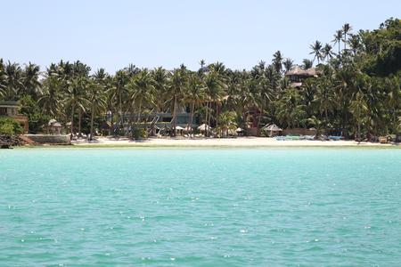 southeast asia: scenic views of the coastline of Boracay Island, Philippines, Southeast Asia