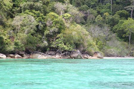 southeast asia: scenic views of the coastline of archipelago Koh Lipe Island, Thailand, Southeast Asia