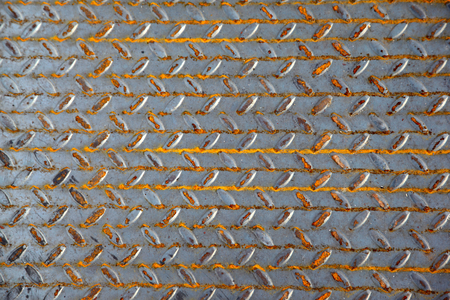 corrugation: The surface of a metal sheet with a special corrugation