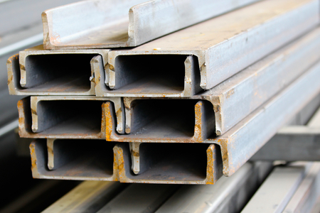 building structures: metal profiles channel  foundation for building structures, steel