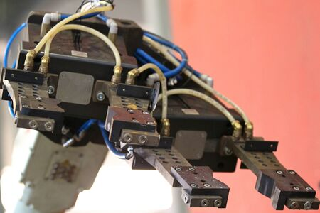 aggregation: element of an industrial robot for manipulation