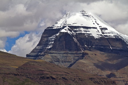 View of the Holy Mount Kailash, Tibet, China