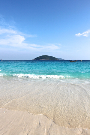 similan islands: beach in the Similan Islands, Andaman Sea, Thailand Stock Photo