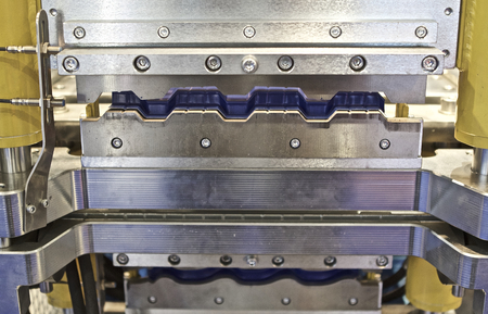 punch press: working part presses for metal forming, industrial equipment