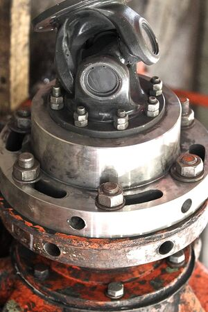 shaft: Wheel assembly rotation transmitting gear shaft
