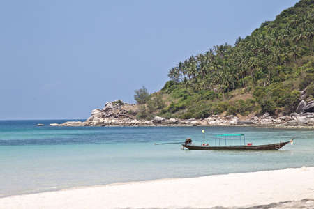 the gulf: Phangan Paradise Island in the Gulf of Thailand Stock Photo