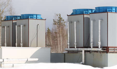 cooling system: industrial water cooling system