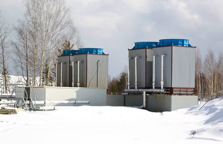 chiller: industrial water cooling system