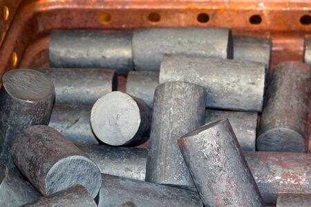 further: metal round billets for further processing