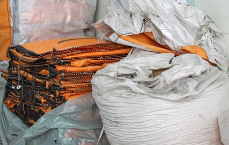 durable: durable bags for stuffing bulk industrial products
