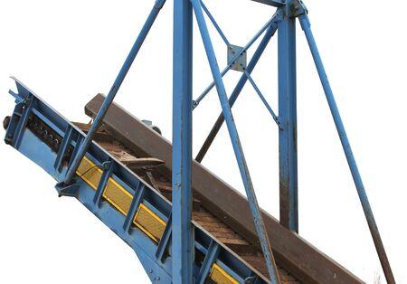 altmetall: Aufzug, um den Schrott und anderen Materialien zu bewegen