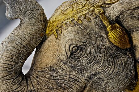 southeast asia: Sculptures of various animals in Thailand, Southeast Asia Stock Photo