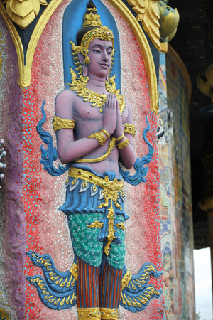 Sculpture, architecture and symbols of Buddhism, Thailand, South East Asia