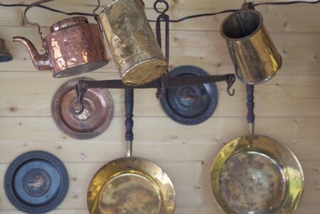 alloy: Cookware for fire made of copper alloy, Russia