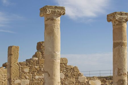 Archaeological excavations of ancient Greek civilization, the island of Cyprus