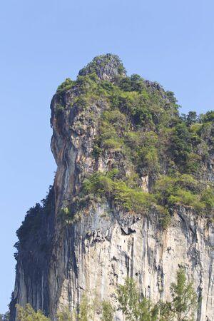 Picturesque rocks of the Railey Peninsula, Krabi, Thailand Picturesque rocks of the Railay Peninsula, Krabi, Thailand