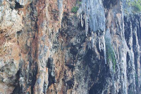 Details and forms of rocks on Railay peninsula, Krabi, Thailand Stok Fotoğraf - 96132765