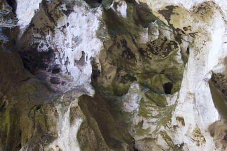 Details and forms of rocks on Railay peninsula, Krabi, Thailand Stok Fotoğraf