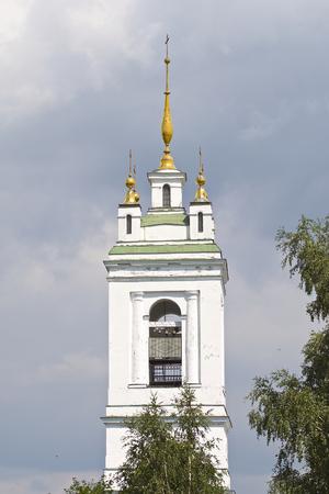 Architecture of Russian Orthodox Churches and Cathedrals, Konstantinovo Village, Ryazan Region, Russia Standard-Bild - 111288469