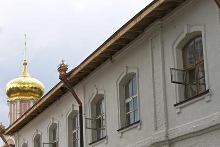Architecture of Russian Orthodox Churches and Cathedrals, Village Poschupovo, Ryazan Region, Russia Standard-Bild - 111288520