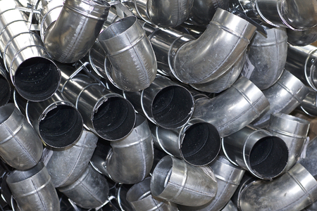 Elements and parts made of galvanized sheet for various ventilation systems, Russia