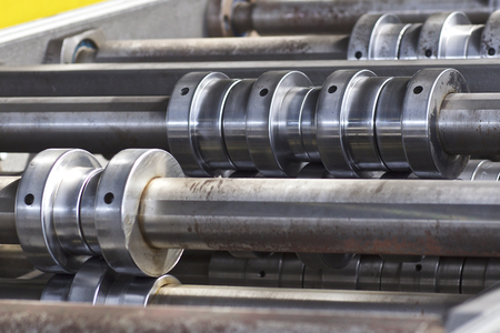 Rolls for profiling in the machine for rolling galvanized sheet metal, Russia