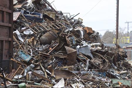 Scrap metal and waste of ferrous metals, Russia