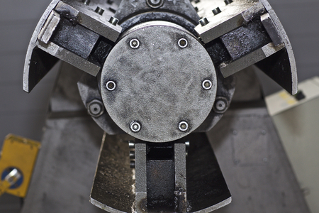 Drum for feeding sheet steel in the machine, Russia